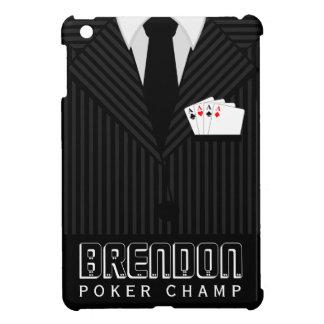 Cas d'iPad de costume de filet de casino de Coques Pour iPad Mini