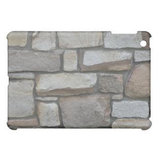 Cas d'iPad de mur en pierre mini Étui iPad Mini