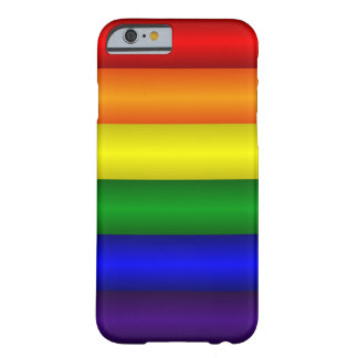 Cas d'Iphone 6 d'arc-en-ciel Coque Barely There iPhone 6