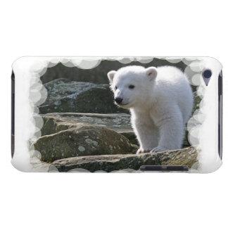Cas d'iTouch d'ours blanc de bébé Coque Barely There iPod