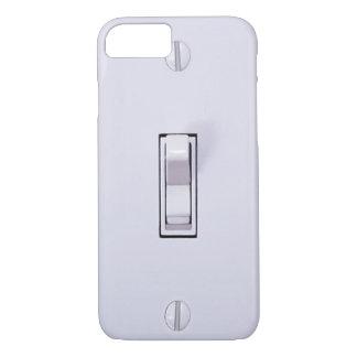 Cas drôle de l'iPhone 7 d'interrupteur de lampe Coque iPhone 7