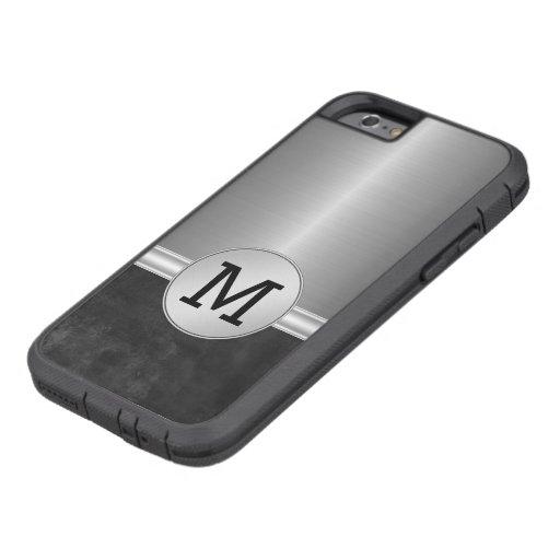 Cas du monogramme des hommes de luxe coque iPhone 6 tough xtreme