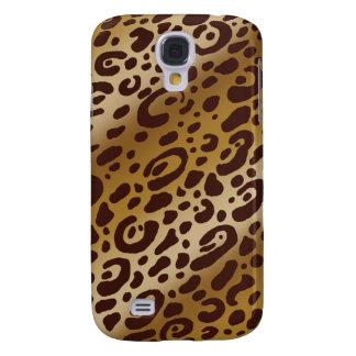 Cas dur d'empreinte de léopard vif de HTC Coque Galaxy S4