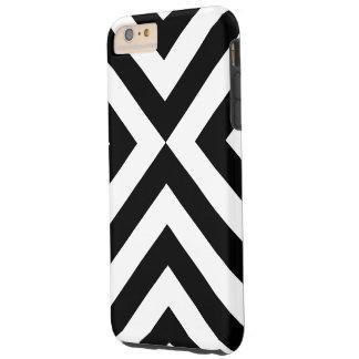 Cas dur plus de l'iPhone 6 noirs et blancs de Coque iPhone 6 Plus Tough