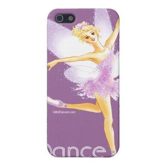 Cas féerique de l'iPhone 4 de ballet iPhone 5 Case