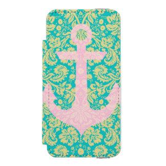 Cas floral de l'iPhone 5/5s d'ancre Coque-portefeuille iPhone 5 Incipio Watson™