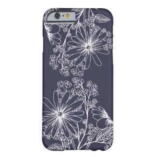 Cas floral simple coque barely there iPhone 6