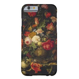 Cas floral vintage élégant de l'iPhone 6 de vase Coque Barely There iPhone 6