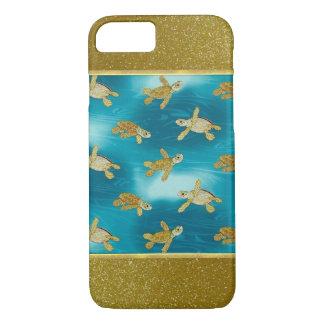 Cas frais de l'iPhone 6 de tortues d'or Coque iPhone 8/7