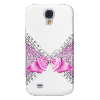 Cas Girly de parties scintillantes de jewell Coque Galaxy S4