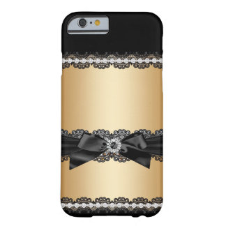 Cas Girly de parties scintillantes de jewell Coque iPhone 6 Barely There