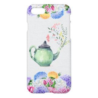 Cas girly mignon heure du thé coque iPhone 7