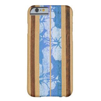Cas hawaïen de l'iPhone 6 de planche de surf de Coque iPhone 6 Barely There