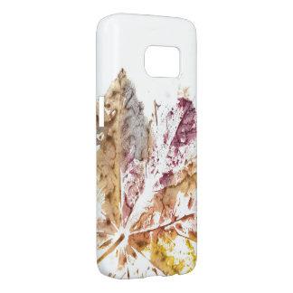 Cas Hülle de téléphone d'impression de feuille Coque Samsung Galaxy S7