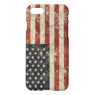cas iPhone7 avec le drapeau des Etats-Unis Coque iPhone 8/7
