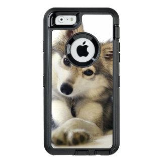 Cas mignon de chiot coque OtterBox iPhone 6/6s