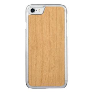 Cas mince découpé de l'iPhone 7 Coque En Bois iPhone 7