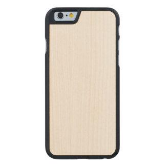Cas mince en bois de l'iPhone 6/6s Coque Carved® Slim iPhone 6 En Érable