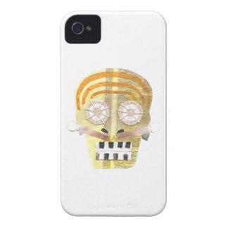 Cas musical d'IPhone 4 de crâne Étui iPhone 4