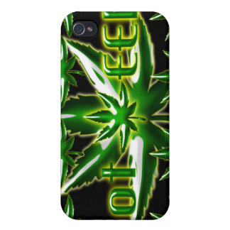 Cas obtenu d'Iphone 4 de mauvaise herbe iPhone 4/4S Case
