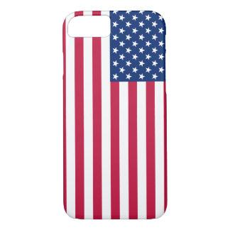 Cas patriotique de l'iPhone 7 de bannière étoilée Coque iPhone 7