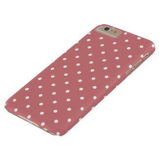 Cas plus de l'iPhone 6 de point de polka de les Coque Barely There iPhone 6 Plus