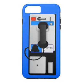 Cas plus de l'iPhone 7 de téléphone payant Coque iPhone 8 Plus/7 Plus