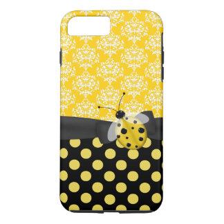 Cas plus de l'iPhone 7 jaunes mignons de Coque iPhone 7 Plus