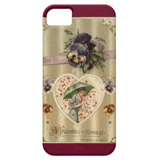 Cas victorien de l'iPhone 5/5S de Madame Vintage Étui iPhone 5
