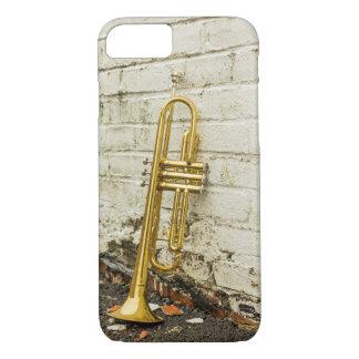 Cas vintage de téléphone de trompette coque iPhone 7