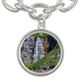 Cascade #1B - bracelet de l'Utah de charme - ronde