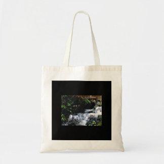Cascade de grand Snowbird Tote Bag