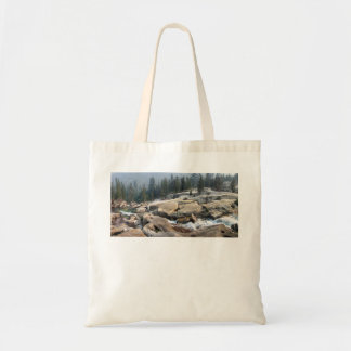 Cascades de crique de poissons en vallée de tote bag