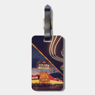 Casinos de Las Vegas Étiquettes Bagages