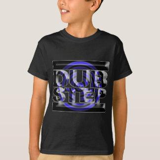 Caspa bleu de rusko de rotation de T-shirt d'étape