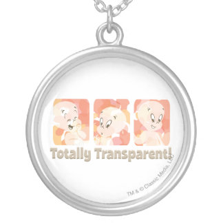 Casper totalement transparent collier