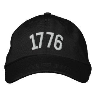 casquette 1776 fait sur commande casquette de baseball brodée