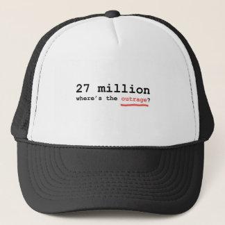 Casquette 27 millions - où est l'outrage ?