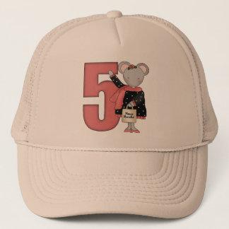 Casquette 5èmes cadeaux d'anniversaire de souris