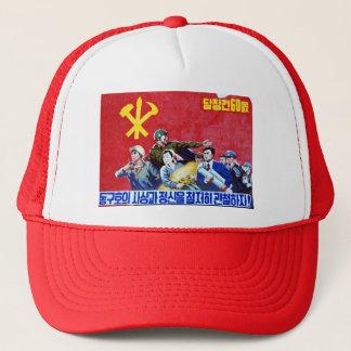 Casquette Affiche coréenne du nord de parti communiste