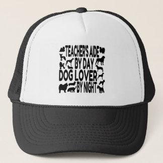 Casquette Aide de professeurs d'amoureux des chiens