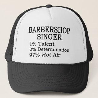 Casquette Air chaud de chanteur de raseur-coiffeur