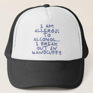 Casquette allergique