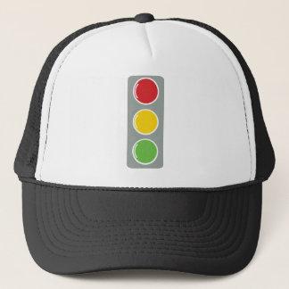 Casquette Ambre vert rouge de feux de signalisation