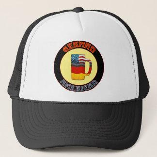 Casquette américain allemand de camionneur de