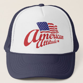 Casquette américain d'attitude - marine