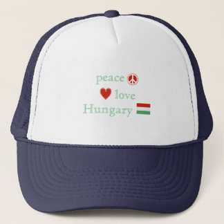 Casquette Amour et la Hongrie de paix