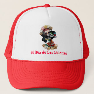 Casquette Amour maternel squelettique mexicain