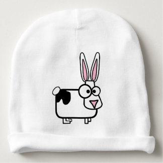 Casquette animal d'hiver de lapin de bande bonnet pour bébé