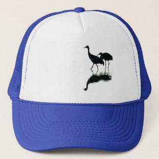 Casquette Animaux de faune d'oiseaux de grue de Sandhill